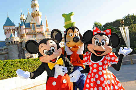 Weekender Breaks - Four Star Two nights Disneyland Paris break with a 1 day 2 park ticket and flights - Save 39%