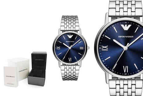 Ticara Watches - Mens Emporio Armani AR80010 stainless steel watch - Save 57%