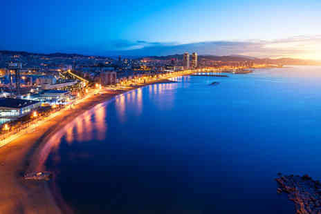 Travel Center - Four Star Two nights Barcelona beachfront break with return flights - Save 27%