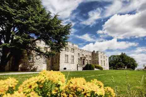 Imagine Spa at Hazlewood Castle - 30 minute spa discovery experience for one person including a 30 minute treatment and afternoon tea - Save 20%