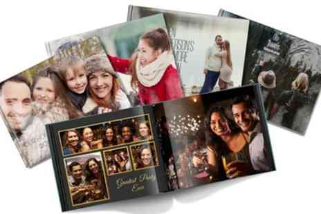 Printerpix - Up to Three 100 Page A4 Photobooks - Save 64%