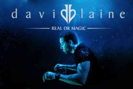 David Blaine Real or Magic - One Price Level 2 reserved seated ticket from 15th To 19th June - Save 53%