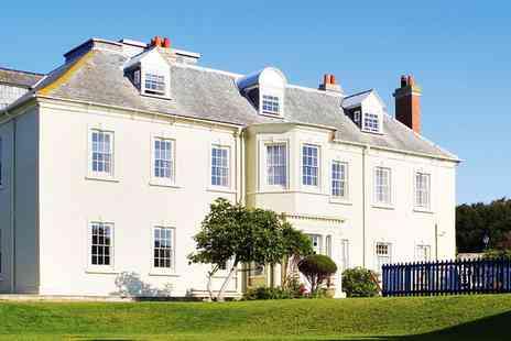 Moonfleet Manor - Spa package with treatment and afternoon tea - Save 36%