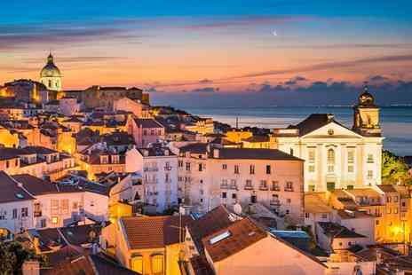 Bargain Late Holidays - Escape with a two, three or four nights getaway to Lisbon Now with the ability to choose your flight - Save 0%