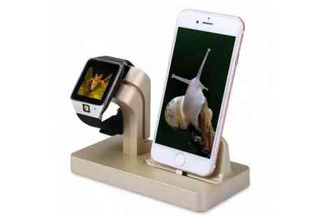 Wow What Who - 2 in 1 smartphone charging station - Save 0%