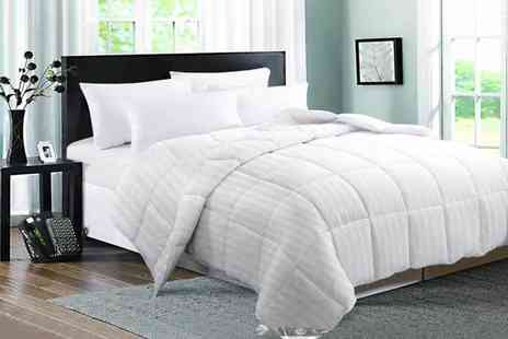 Direct Warehouse - 15 tog goose feather and down duvet choose from four sizes - Save 68%