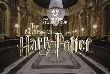 Warner Bros Studio Tour - Guidebook, Hot Meal, Beer or Wine and Butterbeer - Save 0%