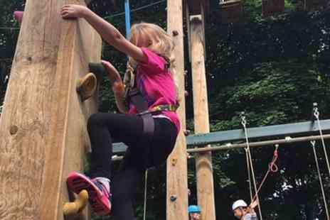 Challenge Academy - Ropes Adventure Experience for Up to Six - Save 26%