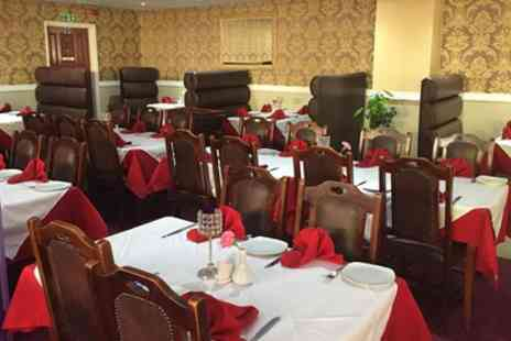 Haldi Lounge & Spice Grill - Two Course Indian Meal with Appetisers and Rice or Naan - Save 52%