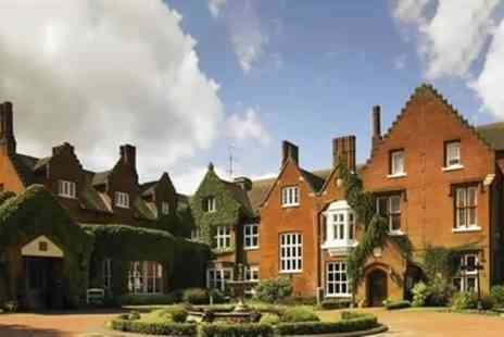 Sprowston Manor Hotel & Country Club - Traditional or Sparkling Afternoon Tea with Leisure Pass for Two - Save 49%