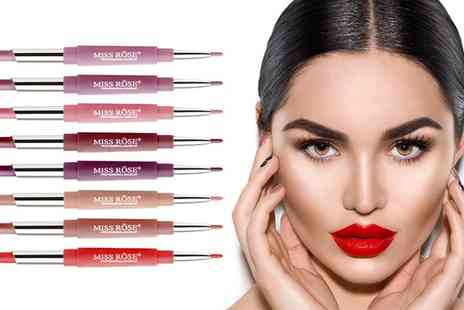 Groupon Goods Global GmbH - Double Ended Matt Lipstick and Lip Liners - Save 0%
