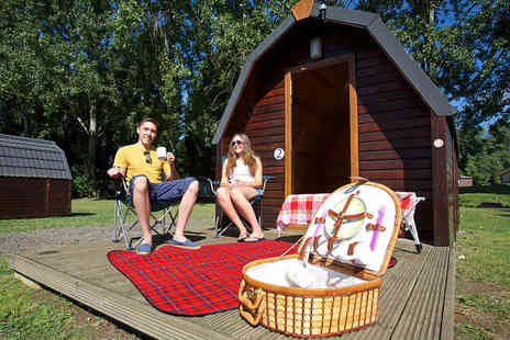 Billing Aquadrome Holiday Park - Two nights glamping pod stay for a family of four with swimming and entertainment - Save 47%