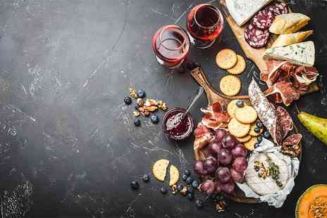 Le Cassis - Meat and cheese sharing platter plus two cocktails or a bottle of wine for two people - Save 60%
