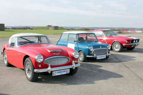 Bicester Heritage - Triple Classic Car Driving Experience - Save 28%