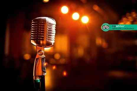 The Boat Show Comedy Club - Live comedy for two people with club entry Enjoy top laughs on the Thames - Save 50%