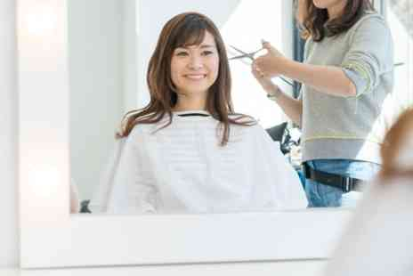 New You Hair Lounge - Wash, Cut and Blow Dry with Conditioning and Optional Half Head of Highlights - Save 47%