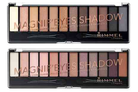 Groupon Goods Global GmbH - Set of Two Rimmel Magnif eyes Eyeshadows - Save 0%