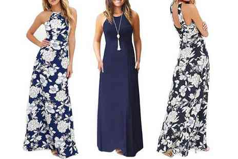 Boni Caro - Boho style maxi dress choose from three colours - Save 70%
