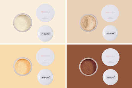 Forever Cosmetics - No filter setting powder choose from four shades - Save 0%
