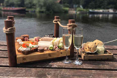 The Farndon Boathouse - Afternoon tea for two people, include a glass of Prosecco each - Save 40%
