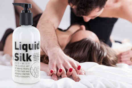 My Health Beauty - 250ml bottle of Liquid Silk lubricant - Save 31%