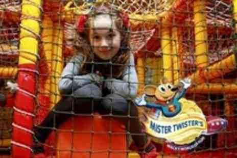 Mister Twisters - Soft Play Centre Admission Two Visits For Family of Four - Save 68%
