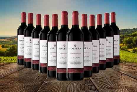 Q Regalo - Pack of 12 Spanish Soliera D.O La Mancha wines - Save 0%