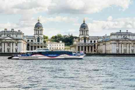 Thames Clippers - The Painted Hall and MBNA Thames Clippers River Roamer Hop On Hop Off Pass - Save 0%