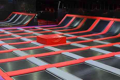 Ryze Dundee - Two hour trampoline session - Save 50%