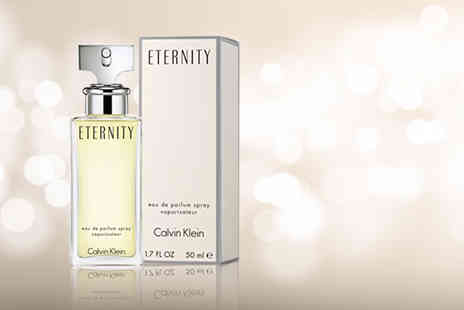 Deals Direct - 50ml bottle of Calvin Klein Eternity Edp - Save 51%