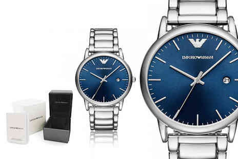 Ticara Watches - Emporio Armani AR11089 mens blue dial watch - Save 52%