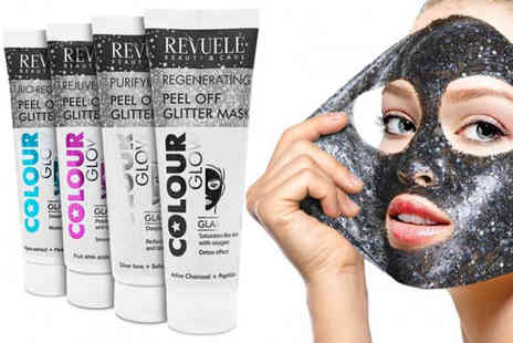 Avant Garde - Peel off glitter face mask - Save 78%