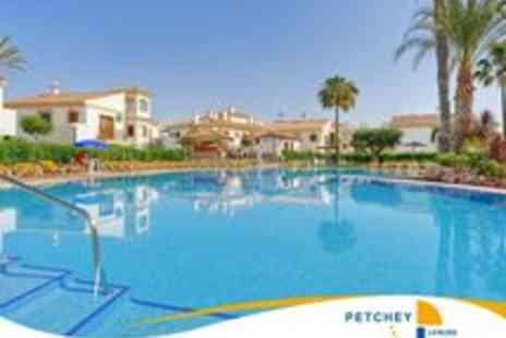 Petchey Leisure - In Spain 7 Nights for up to 4 People Vera Beach Club - Save 79%