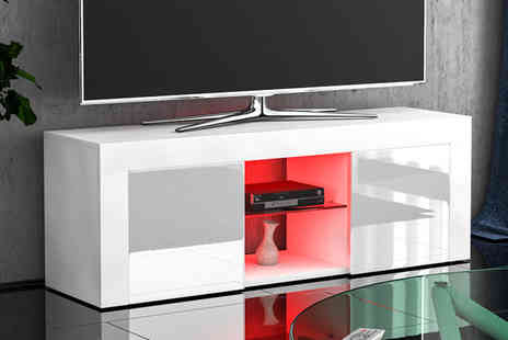 Home Discount - Eclispe Led TV cabinet choose from seven colour options - Save 0%