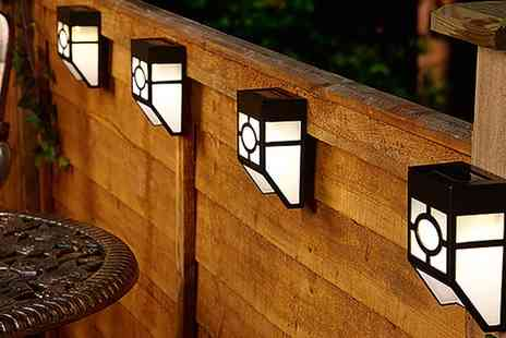 Groupon Goods Global GmbH - 12 Pack of Solar Fence Lights - Save 0%