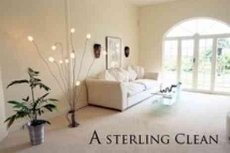A Sterling Clean - Carpet Cleaning - Save 76%