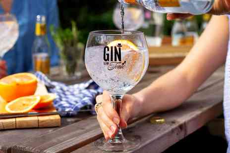 The Gin To My Tonic - Entry to gin festival in Exeter - Save 33%