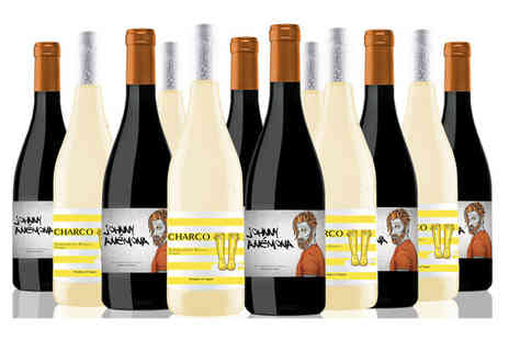 San Jamon - Case of 12 bottles of Spanish wine choose a red, white or mixed case - Save 0%