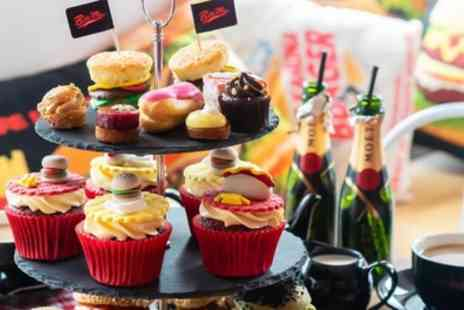 Bite Me Burgers - Burger Afternoon Tea with Optional Glass of Prosecco for Two - Save 50%