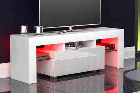 Home Discount - led Tv cabinet choose from Seven colours - Save 61%