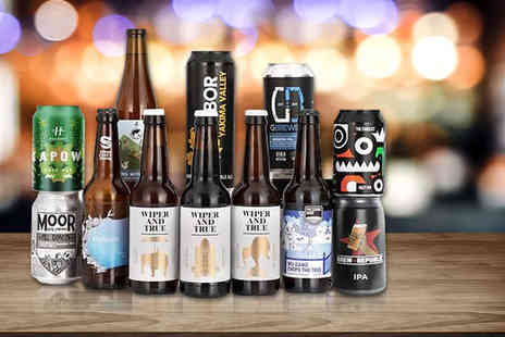 Brew Republic - 12 beer case and membership subscription on the first case Plus Delivery is Included - Save 60%