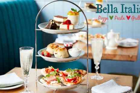 Bella Italia - Italian Afternoon Tea with Optional Glass of Prosecco for Two - Save 24%