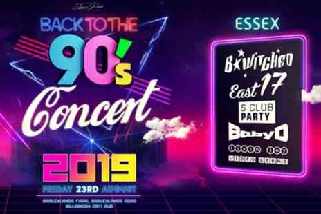 Back to the 90s Open Air Concert - One child, teenager or adult ticket on 23 August - Save 48%