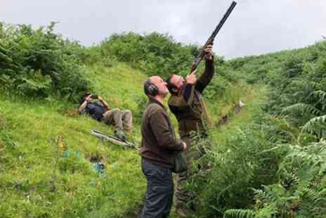 Clay Pigeon Shooting Scotland - Archery, Air Rifle Experience or Both with Clay Pigeon Shooting for Two - Save 44%