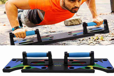 Wow What Who - 9 in 1 push up plate - Save 56%