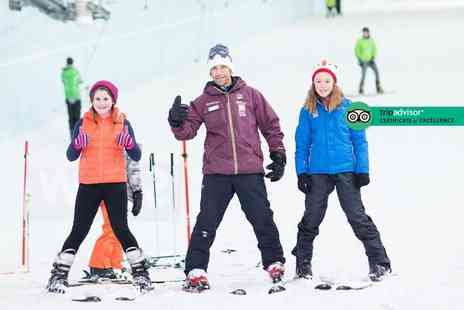 Chill Factore - 50 minute ski or snowboard taster session for one person - Save 53%