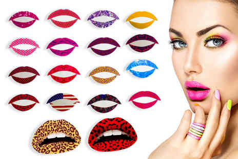 Forever Cosmetics - 10 temporary lip tattoos from Forever Cosmetics - Save 90%