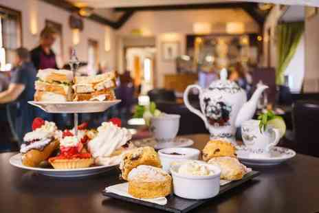 The Lobby on Hill Street - Afternoon tea for two with a cocktail each - Save 53%