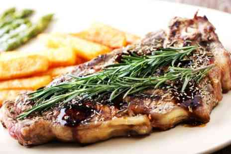 Dolphin Hotel - 8oz Sirloin Steak Meal for Two or Four - Save 42%
