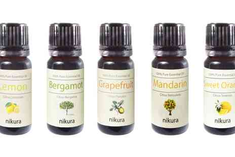 Groupon Goods Global GmbH - Five Essential Oils Gift Set - Save 0%
